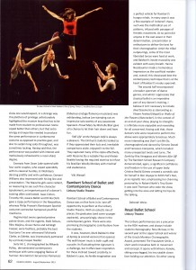 Hanna Europe Dance Mag Review 2013